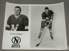 Original Late-60's W. Connelly North Stars photo