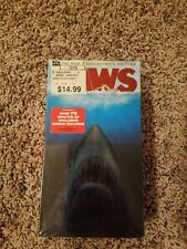 Jaws Anniversary Collector's Edition VHS 85818 Sealed New
