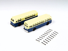 N Mini Metals 52307 * GMC TDH-3610 Transit Bus * Transit Blue & Cream (2)