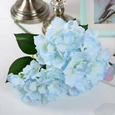 Artificial Flower 5 Heads Silk Hydrangea Bouquet for Wedding Home Party Decor