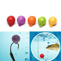 15x 10mm Boilies Floating Smell Lure Artificial Bait Hair Rig Terminal TackleBH