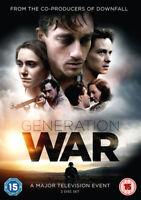 Generation War DVD (2014) Volker Bruch cert 15 2 discs ***NEW*** Amazing Value