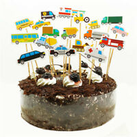 vehicle cupcake toppers baby shower birthday party decoration supplies GX