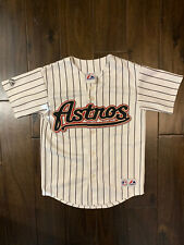 Carlos Lee Houston Astros Authentic Majestic Vintage Youth Medium Jersey
