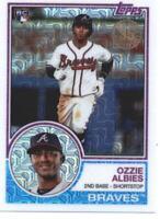 2018 Topps '83 1983 35th Anniversary #26 Ozzie Albies RC Rookie Atlanta Braves