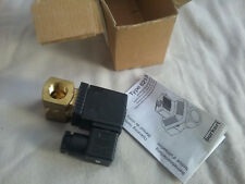 Burkert Germany Solenoid Valve 6213 24V 8W 0-10 Bar GM83 145690B
