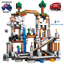The Mine 922pcs Compatible Lego MY WORLD Minecrafted Model Building Blocks Set
