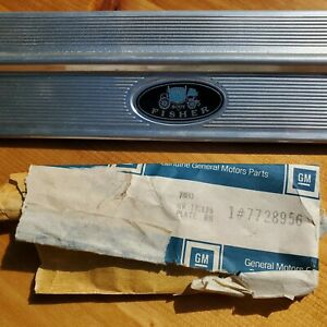 NOS 1968-79 2 Door Chevy II Nova SS 350 396 RH Sill Scuff Plate GM #7728956