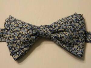 Multi-color Bow Tie-Geometric design-Unique Bow Tie Silk Bow Tie for men self-tie Handcraft