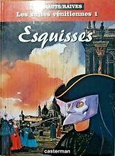 Bande Dessinée Venise, Esquisses, Les suites vénitiennes 1,Warnauts/Raives- 6310