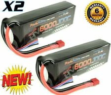 Powerhobby 3S 11.4V HV 6000mAh 100C Lipo Battery Pack w Deans Plug 3-Cell (2)