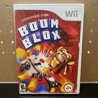 Nintendo Wii and Wii U Boom Blox Video Game with Manual Complete  CIB