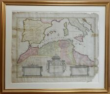 North Africa. Original Copperplate by John Senex after Guillaume De L'Isle c1730