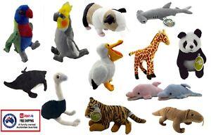 PLUSH ANIMAL x1 soft stuffed toy teddy cute doll kids birthday gift bird