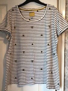 Joules Bee T-shirt Size 18