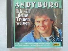 Andy Borg - Ich will deine Tränen weinen - Karussell CD