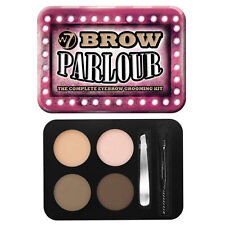 W7 Brow Parlour Eyebrow Kit Powder Wax ,Tweezers, Brush, Highlighter
