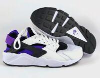 Nike Air Huarache Run '91 QS OG Black Purple Punch White AH8049-001 Men's 9
