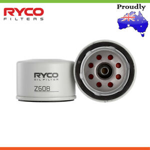 Brand New * RYCO * Oil Filter For RENAULT CLIO X65 2L 4 Petrol F4RD 5/2001 - On