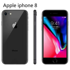 "Original Apple iPhone 8 64GB Black Hexa-core IOS Touch ID 12.0MP Camera 4.7""inch"