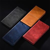 For Huawei Honor 8X 20 10 9 8 7 LiteMagnetic Leather Flip Wallet Card Case Cover