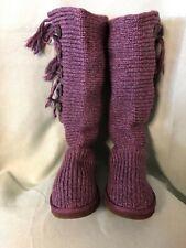UGG Australia purple boots size 9