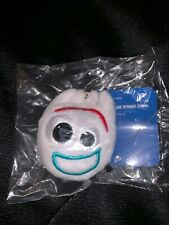 2x Forky Plush Key Chain Stuffed Face Charm