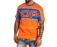 Dope Men's T-Shirts Orange Size Small S Crewneck Logo Graphic Tee $40 013