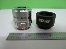 MICROSCOPE PART OBJECTIVE NIKON JAPAN SLWD 10X M PLAN OPTICS AS IS T1-09