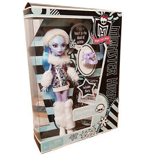New Monster High Abbey Bominable Doll Pet & Diary Classic Original Costume V7988