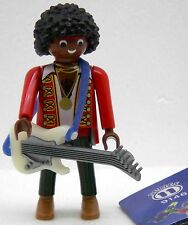FARBIGER ROCK GITARRIST Playmobil FIGURES 11 BOYS 9146 zu Musiker Band Gitarre