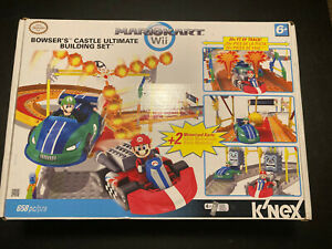 K'nex Mario Kart Wii Bowser's Castle Ultimate Building Set NEW/SEALED in Box