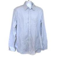 Giorgio Armani Black Label Made in Italy 100% Cotton Men's Size 43/17 Shirt