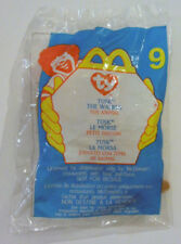 "Tuskâ""¢ The Walrus #9 Tyâ""¢ Mini Beanie Baby McDonalds Happy Meal Toy Sealed Retired"