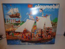 Playmobil 3550, bateau des pirates, édition spéciale, rare, vintage de 1981