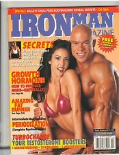 IronMan Bodybuilding muscle magazine/Skip LaCour/Linda O'Neil 10-98
