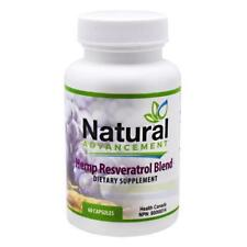 Eastwest Science Natural Advancement Hemp Resveratrol Blend 60 Capsules