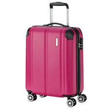 travelite CITY Beere Pink 55cm Trolley Handgepäck Bordtrolley 4 Rad Reisekoffer