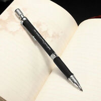 BLACK 2mm Mechanical Pencils, 2.0mm Automatic Drafting Pencil