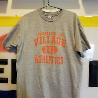 Vintage 90's Property Of Village Athletics T-Shirt Men XL Sports Single Stitch