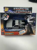 Transformers Gigawatt X Back to the Future (BTTF) DeLorean - Numbered # of 1985