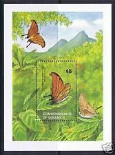 Dominica 1982 Butterflies MS SG820 MNH