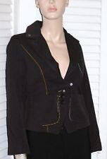 Patrizia Pepe Brown 100% Wool Blazer Jacket 42 US 6