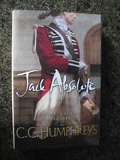 Signed First Edition,First Impression, Jack Absolute by C.C.Humphreys