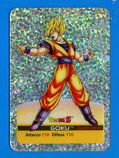 "[GCG] Lamincards DRAGONBALL Z - n. P4 - GOKU - ""argento"""
