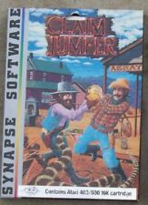 Claim Jumper Atari/Synapse 800/XL/XE 2 Player Cart