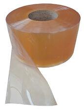 PVC Streifen Lamellen Vorhang 300x3mmx25mtr glass-klare Rolle