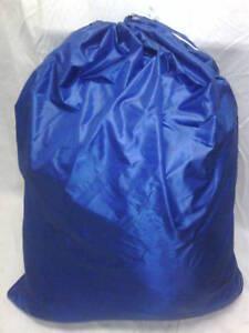 HEAVY DUTY 40x50 NYLON LAUNDRY BAG- BLUE   ***MADE IN USA***