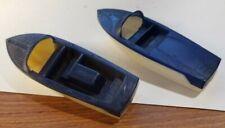 1950's F&F Mold Century Coronado Arabian Toy Boat Plastic Cereal Premium Lot