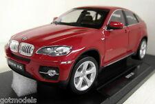 Nex 1/18 Scale 18031W BMW X6 Red Diecast model car
